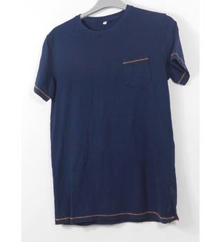 NWOT M&S Size: 13 - 14 Years Navy Short sleeved T-shirt
