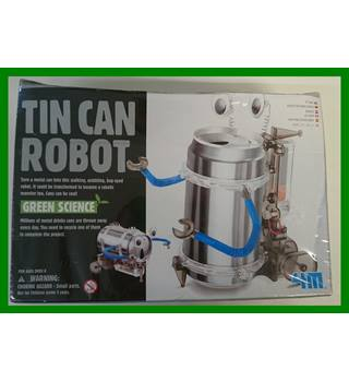 4M Tin Drinks Can Robot Build Your Own Science Toy Kit 4M Tin Drinks Can Robot Build Your Own Science Toy Kit 4M
