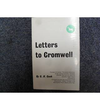 Letters to Cromwell