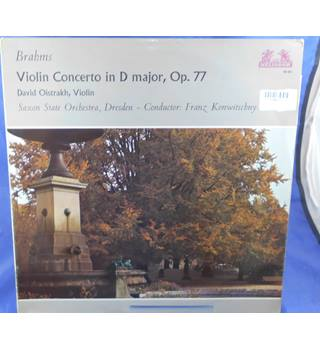 Brahms: Violin Concerto In D Major, Op. 77  - David Oistrakh - 89 607