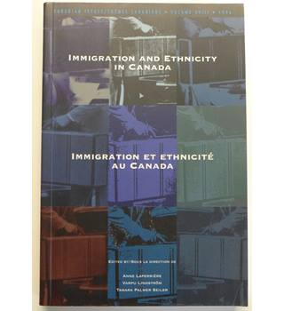 Immigration and Ethnicity in Canada. Immigration et ethnicité Au Canada