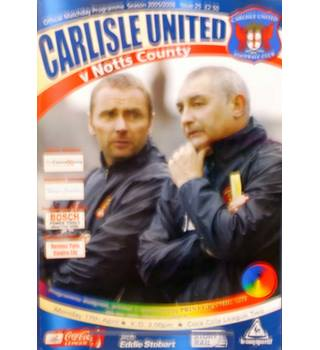 Carlisle United v Notts County - League Two - 17th April 2006