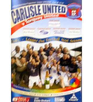Carlisle United v Torquay United - League Two - 29th April 2006