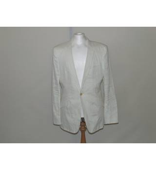 OSKLEN Men's Jacket - Large OSKLEN - Size: L - White - Jacket