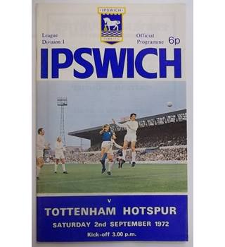Ipswich v Tottenham Hotspur - 2nd September 1972