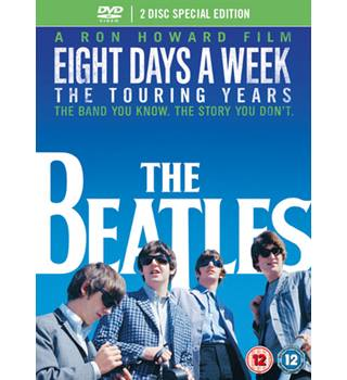 The Beatles Eight Days A Week - The Touring Years DVD 2 Disc Special Edition