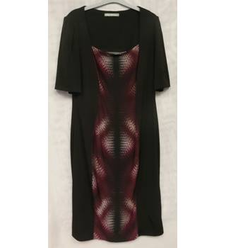 Women's Dress M&S Marks & Spencer's Women M&S Marks & Spencer - Size: 16 - Black - Calf length