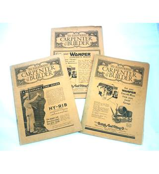 The Illustrated Carpenter & Builder 1931 (13 issues)