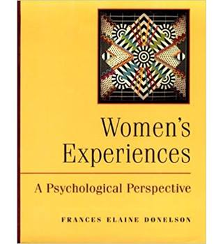 Women's Experiences: A Psychological Perspective