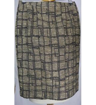 Sophia Pigozzi - Size: 12 - Brown - Knee length skirt