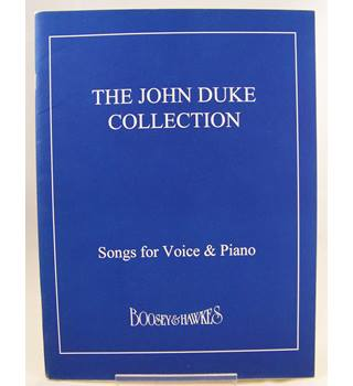 The John Duke Collection. Songs for Voice and Piano.