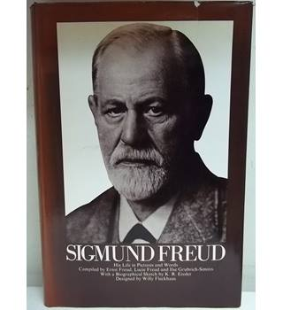 Sigmund Freud: His Life In Pictures In Words. First Edition. With bookplate signed by Lucie Freud and Gerda Mosse.