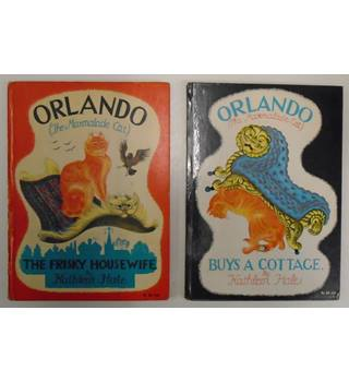Orlando (The Marmalade Cat) - TWO FIRST EDITIONS