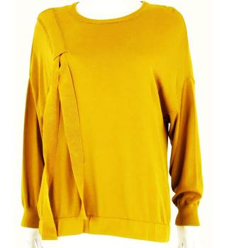 Autograph by M&S Size 12 Dijon Yellow Jumper