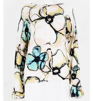 NWOT M&S Size 16 Pastel and Floral Lightweight Jumper