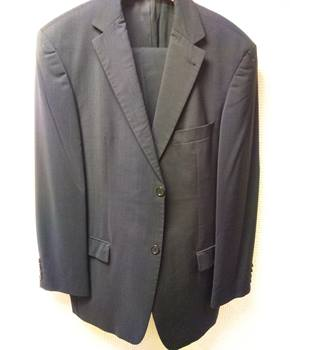 Men's Hugo Boss Navy suit Hugo Boss - Size: One size: regular - Blue - Single breasted suit