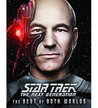 Star Trek The Next Generation Blu ray - THE BEST OF BOTH WORLDS