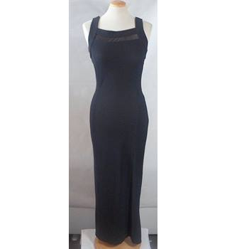 Wallis size 10 black women's full length dress
