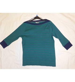 Green & Blue striped top Tu - Size: 20 - Green - Jumper