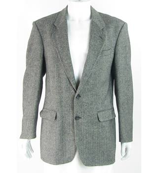 Vintage - 1990s - St Michael from M&S - Size: 40L - Black - 100% Wool - Single breasted suit jacket