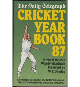 7 Cricket Year Books (Daily Telegraph)