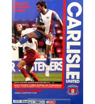 Carlisle United v Oldham Athletic - League 1 - 18th August 2007