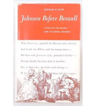 Johnson Before Boswell (1961)