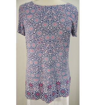 M&S Marks & Spencer - Size: 12 - Multi-coloured - Tunic Top