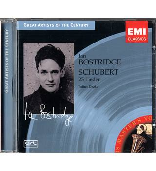 Schubert: 25 Lieder - Ian Bostridge and Julius Drake
