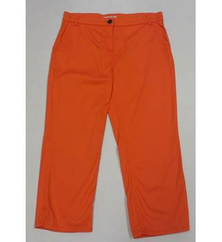 Per Una Size: 14 Orange Trousers