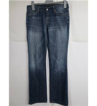 7 for All Mankind Size 28 (to fit) Blue Jeans