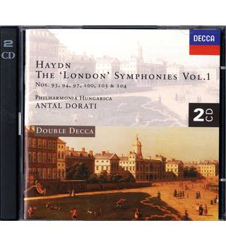 Haydn - The 'London' Symphonies, Vol. 1 - Philharmonia Hungarica conducted by Antal Dorati