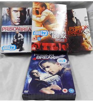 Prison Break- first, second, third and fourth. 15