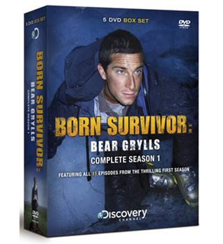 BEAR GRYLLS BORN SURVIVOR - COMPLETE SEASON ONE Non-classified
