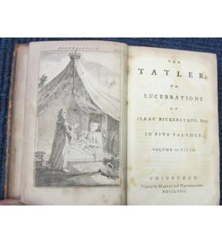 The Tatler: the Lucubrations of Isaac Bickerstaff, Esq. : Vol. V