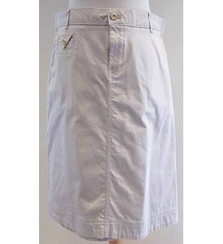 M&S Per Una - Size: 14 - Beige - Knee length skirt