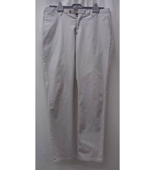 REISS - Size: L - Light Grey - Trousers - cotton- NEW