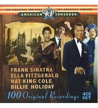 AMERICAN SONGBOOK Frank Sinatra, Ella Fitzgerald, Nat King Cole & Billie Holiday