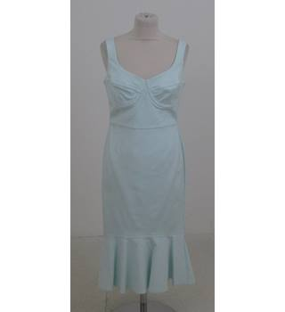 Per Una Size:16 pale-turquoise occasion dress