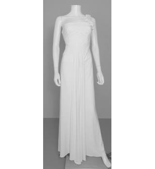 BNWT RRP £190 JS Boutique at House of Frazer Size 10 Off- White Beach wedding dress