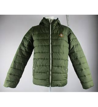 Jack and Jones Padded Green Jacket Jack and Jones - Size: S - Green