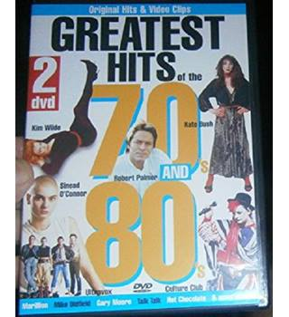 Greatest Hits of the 70s and 80s [DVD] Non-classified