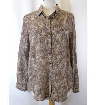 The Kooples - Size: M - Brown - Blouse