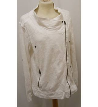Next Apparel - Size: 14 - White - Casual jacket