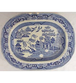 Willow Ceramic Plate DAP