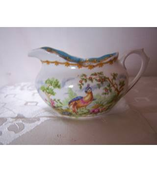 "Royal Albert Bone Chine Milk Jug ""Chelsea Bird"""