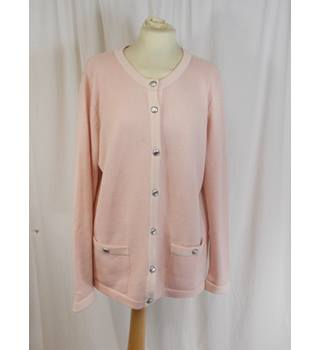M&S Classic - Size 16 - Pink Cardigan
