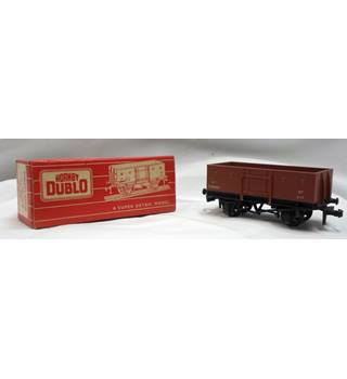 Vintage Hornby Dublo Scale Model in original Red Box. Model 4640 Goods Wagon Steel Type (SD6)