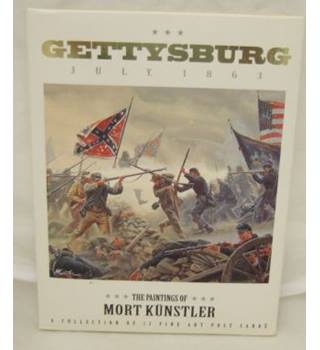 Gettysburg July 1863 The paintings of Mort Kunstler