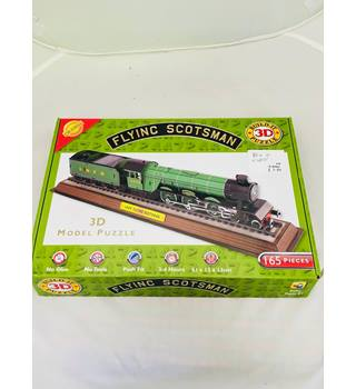 Flying Scotsman Train 3D Puzzle Jigsaw Model 165 pieces